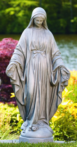 Blessed Mother Mary Sculpture 37