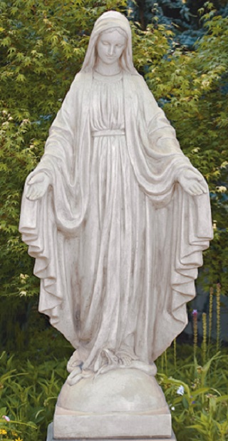 Blessed Mother Mary Life Size Sculpture