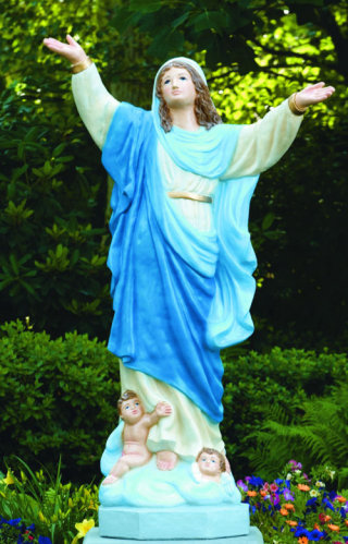 Assumption Of Mary Life-size Statue 55