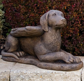 My Guardian Dog Angel Memorial Statue