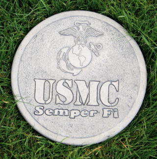 United States Marines Stepping Stone
