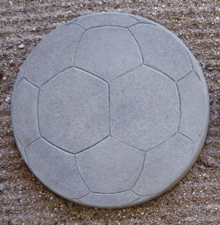 Soccer Ball Stepping Stone