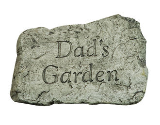 Dad's Garden Stepping Stone