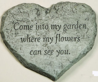 Heart Stone- Come Into My Garden