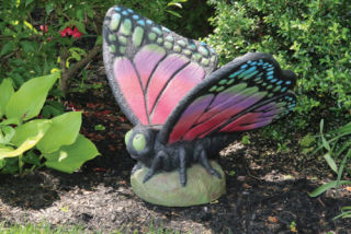 Butterfly Large Multi Color Sculpture