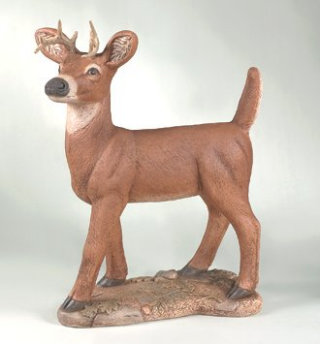 Deer Standing With Antlers 27