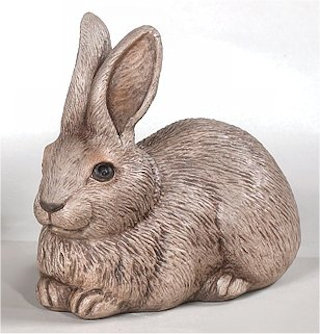 Rabbit Statue Laying down