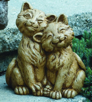 Playmates Cats Garden Sculpture