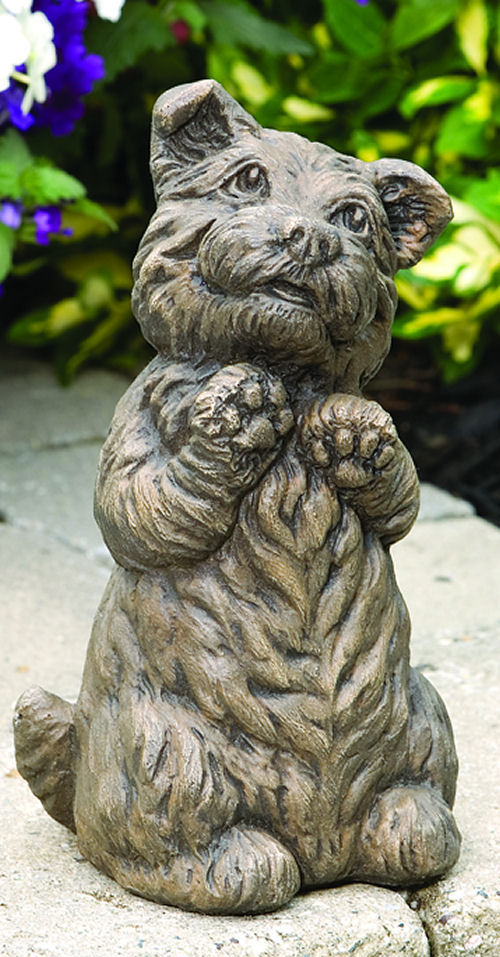 Spirit the Westie Dog Cement Statue