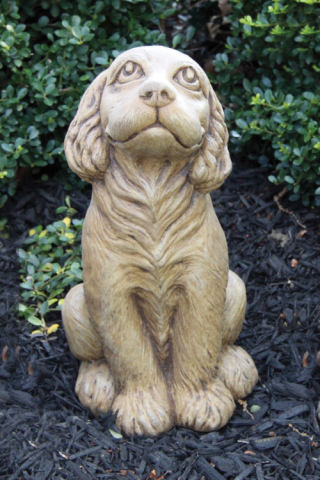 Cocker Spaniel Puppy Dog Sculpture