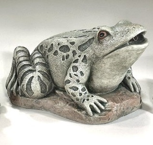 Frog Plumbed Large Water Feature Sculpture