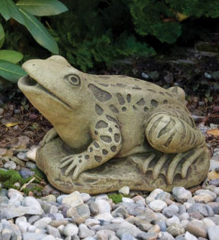 Frog Piped Large Water Feature Statue
