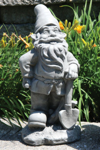 Lazy Daze Gnome with Shovel Sculpture 16