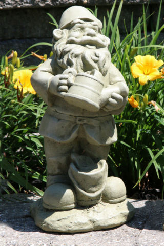Lazy Daze Gnome Watering Can 16