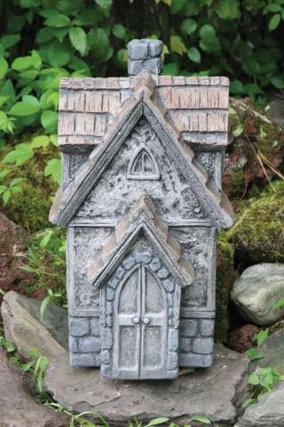 Cottage Whispering Woods Stone Statue