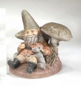 Gnome With Mushrooms 13