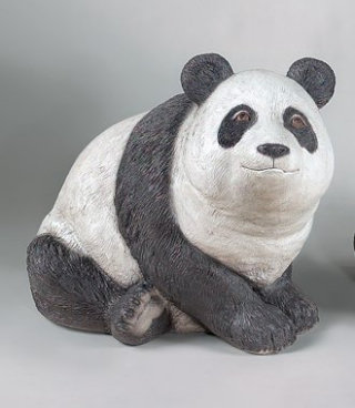 Panda Bear Sculpture Large Realistic