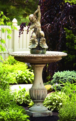 Cherub And Shells Fountain 87