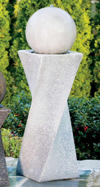 Contemporary Diagonal Fountain Right 42