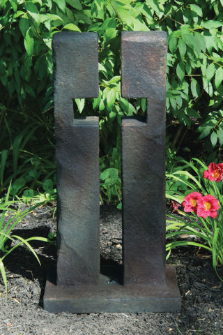 Open Cross Sculpture 32
