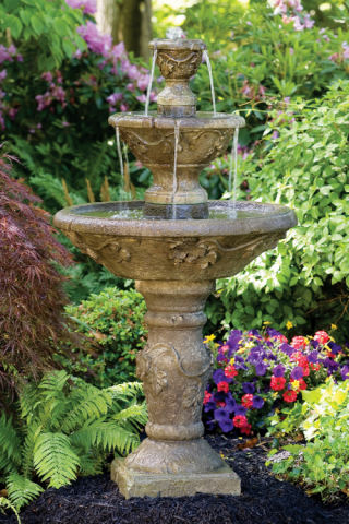 Three Tier Harvest Fountain 56