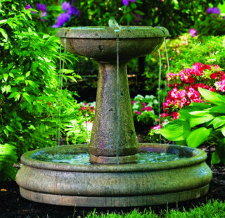 Catalina Cement Fountain 32