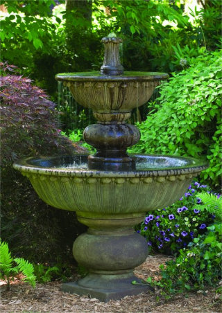 Florentine Fountain with Globed Pedestal 67.5