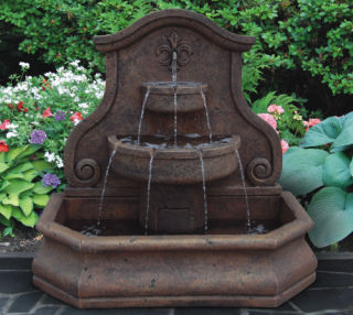 Free-standing and Alcove Wall Fountains
