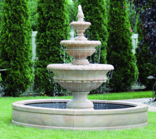 Estate Size Fountains