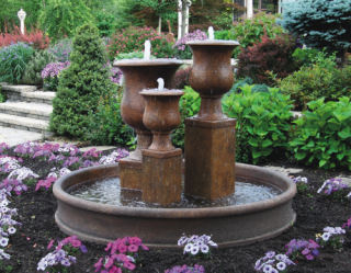 Vail Goblet Urn Fountain 56.5