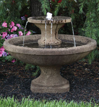 Two Tier Bella Fountain with LED Light