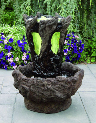 Aria Fountain Cascading Garden Fountain