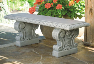 Fabulous Garden Cement Benches Sculptural Seating For Sale At Pabps2019 Chair Design Images Pabps2019Com