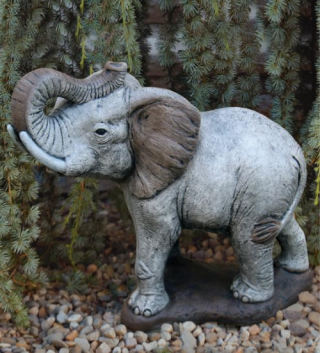 Elephant Sculpture 20.5