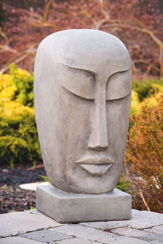 Peaceful Garden Orb Bust 29