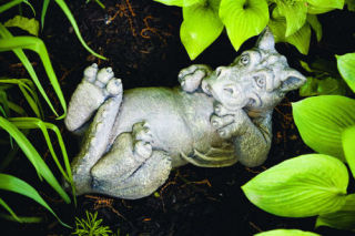 Winslow Dragon Garden Sculpture