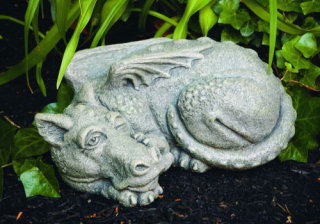 Timble Dragon Cement Statue