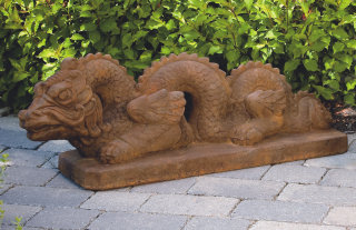 Asian Dragon Statue 38
