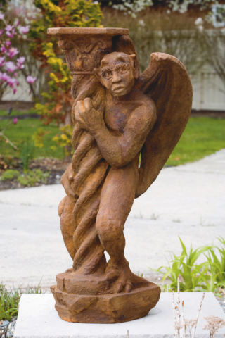 Gargoyle at Column Sculpture 41