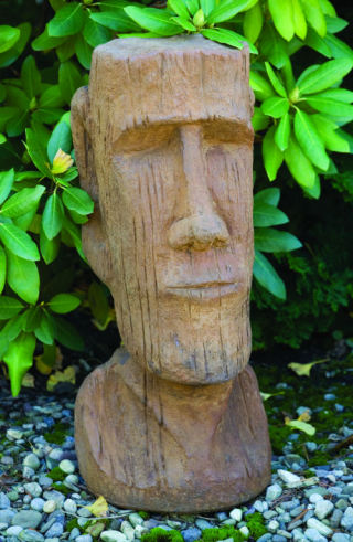Easter Island God Sculpture 25.5