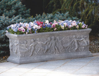 Salvatore Cherub Box Planter 48