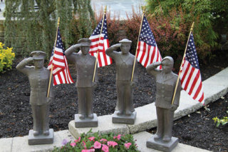 Armed Forces Sculptures