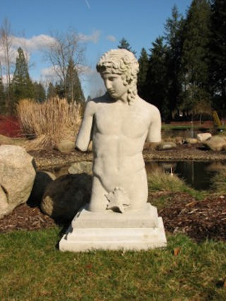 Eros Torso Sculpture