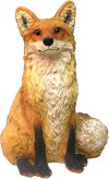 Call Of The Wild Garden Fox Sculpture