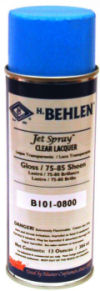 Clear Lacquer Spray for Weathervanes or Statuary