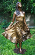 Debutant Girl Bronze Sculpture