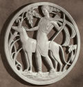 Diana the Huntress Art Deco Wall Frieze Sculpturee