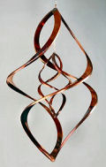 Copper Wind Spinners Sculptures by Neil Sater