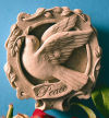 Dove Of Peace Wall Plaque Sculpture