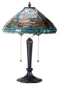 Dragonfly Lamp Inspired by Louis Comfort Tiffany